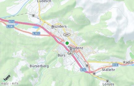 Stadtplan Bludenz