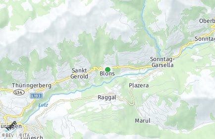Stadtplan Blons