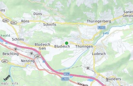 Stadtplan Bludesch