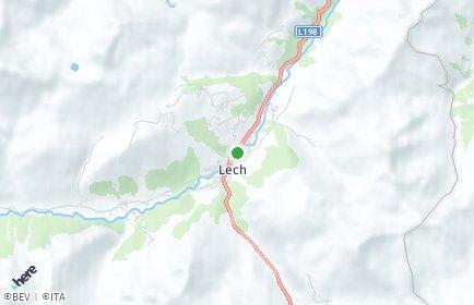 Stadtplan Lech