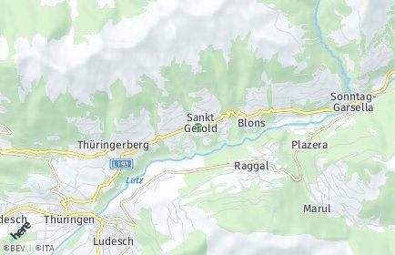Stadtplan Sankt Gerold