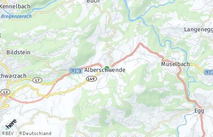 Stadtplan Alberschwende