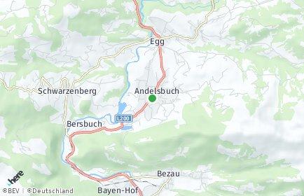 Stadtplan Andelsbuch