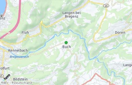 Stadtplan Buch (Vorarlberg)