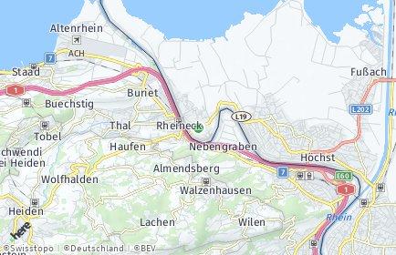 Stadtplan Gaißau