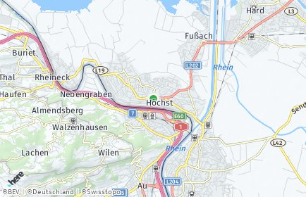 Stadtplan Höchst