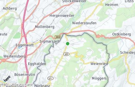 Stadtplan Hohenweiler