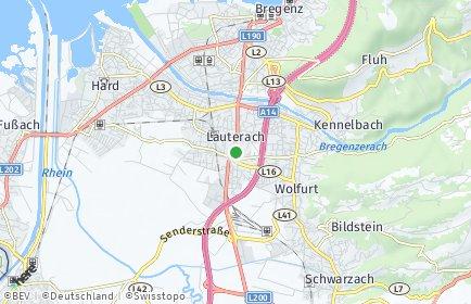 Stadtplan Lauterach