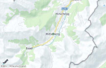 Stadtplan Mittelberg