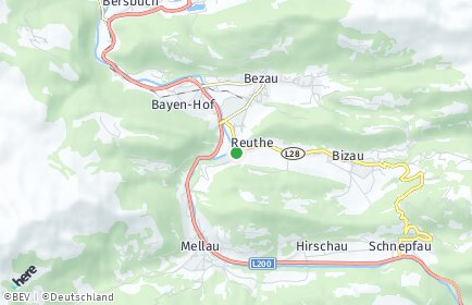 Stadtplan Reuthe