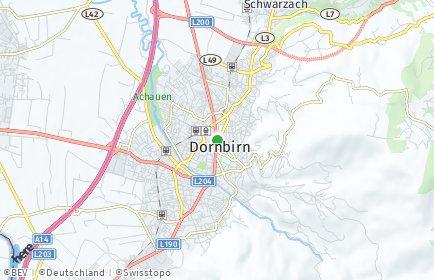 Stadtplan Dornbirn