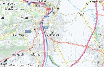 Stadtplan Lustenau