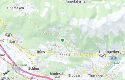 Stadtplan Dünserberg