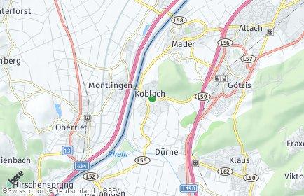 Stadtplan Koblach