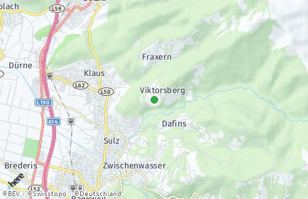 Stadtplan Viktorsberg