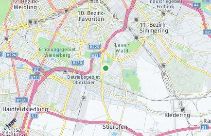 Stadtplan Wien OT Favoriten