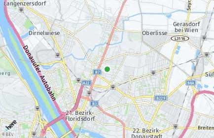 Stadtplan Wien OT Floridsdorf