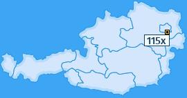 PLZ 115 Österreich