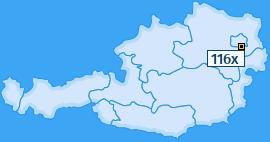 PLZ 116 Österreich