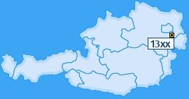 PLZ 13 Österreich