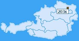 PLZ 203 Österreich