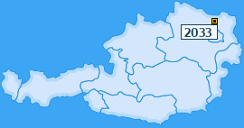 PLZ 2033 Österreich