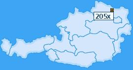 PLZ 205 Österreich