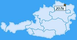 PLZ 207 Österreich