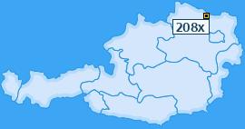 PLZ 208 Österreich
