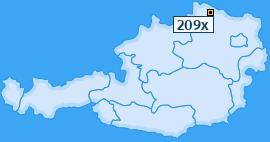 PLZ 209 Österreich