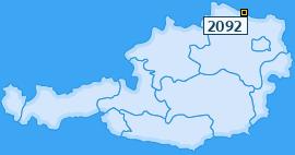 PLZ 2092 Österreich