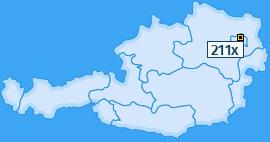 PLZ 211 Österreich