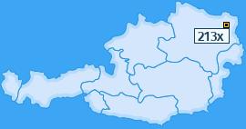 PLZ 213 Österreich