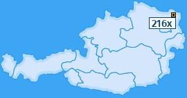 PLZ 216 Österreich