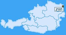 PLZ 2181 Österreich