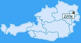 PLZ 220 Österreich