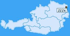 PLZ 222 Österreich