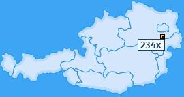 PLZ 234 Österreich