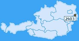 PLZ 2403 Österreich