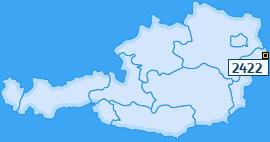 PLZ 2422 Österreich