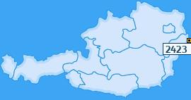 PLZ 2423 Österreich