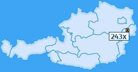 PLZ 243 Österreich