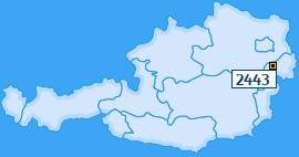 PLZ 2443 Österreich