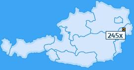 PLZ 245 Österreich