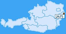 PLZ 2475 Österreich