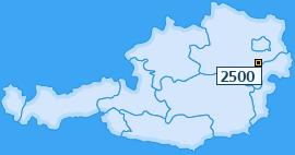 PLZ 2500 Österreich