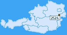 PLZ 2524 Österreich