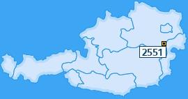 PLZ 2551 Österreich