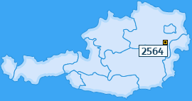 PLZ 2564 Österreich