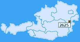 PLZ 2625 Österreich